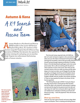 Dogster Magazine Feb-Mar 2019 Autumn Manka
